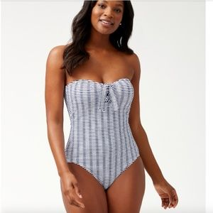 Tommy Bahama Island Cays Bandeau Swimsuit